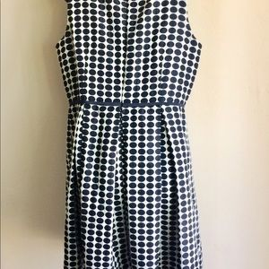 Taylor Woman Dresses - Black  White Polka Dot Dress Taylor Woman Size 16W